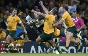 Wallabies vs Fiji