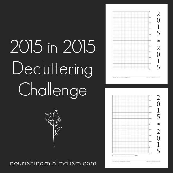 Let the de-clutteringcommence