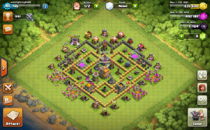 Clash of Clans TH7 base
