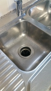 Sink before buffing