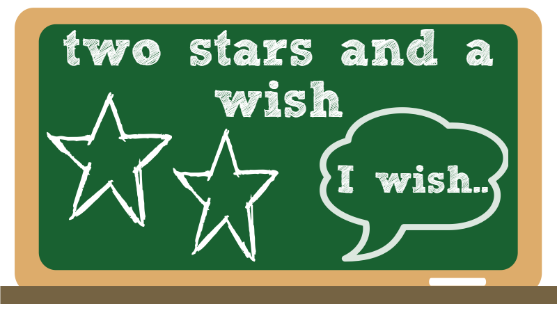 2 November: two stars and a wish