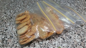 Cracker snack bags